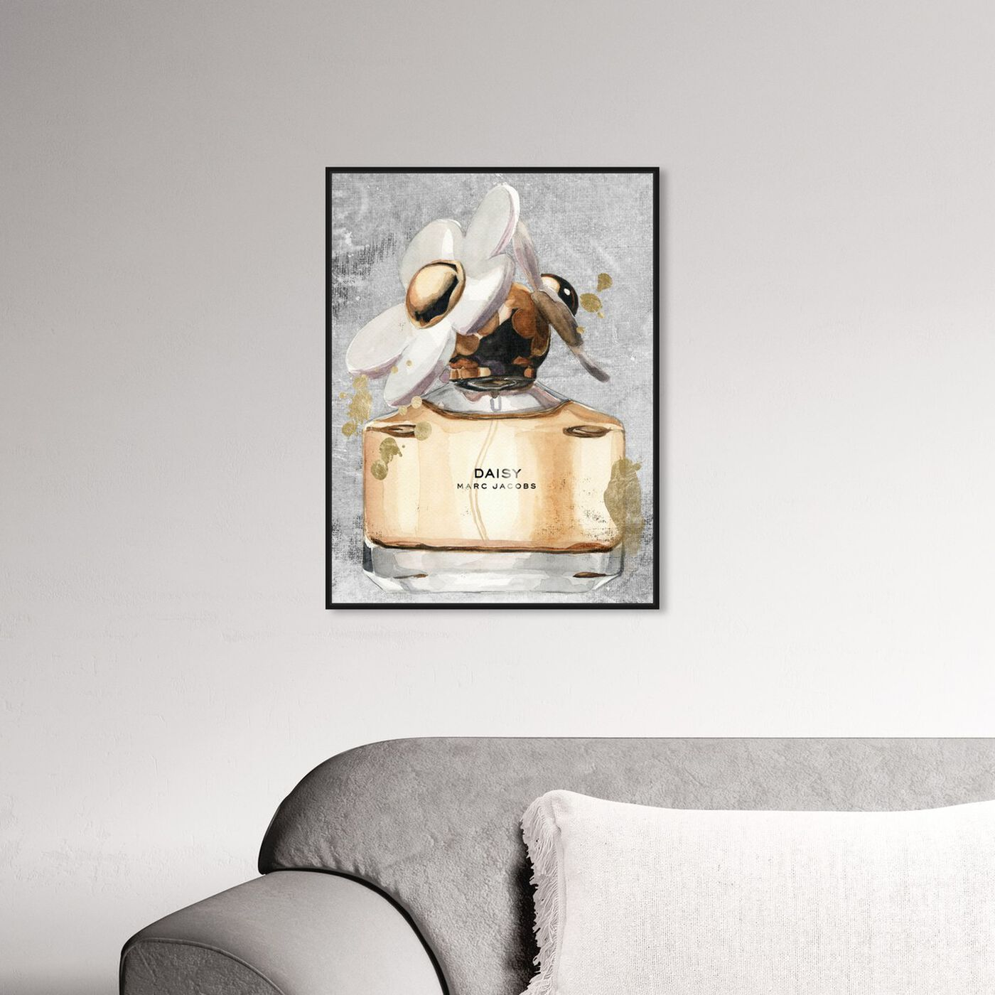 Hanging view of Daisy Perfume featuring fashion and glam and perfumes art.