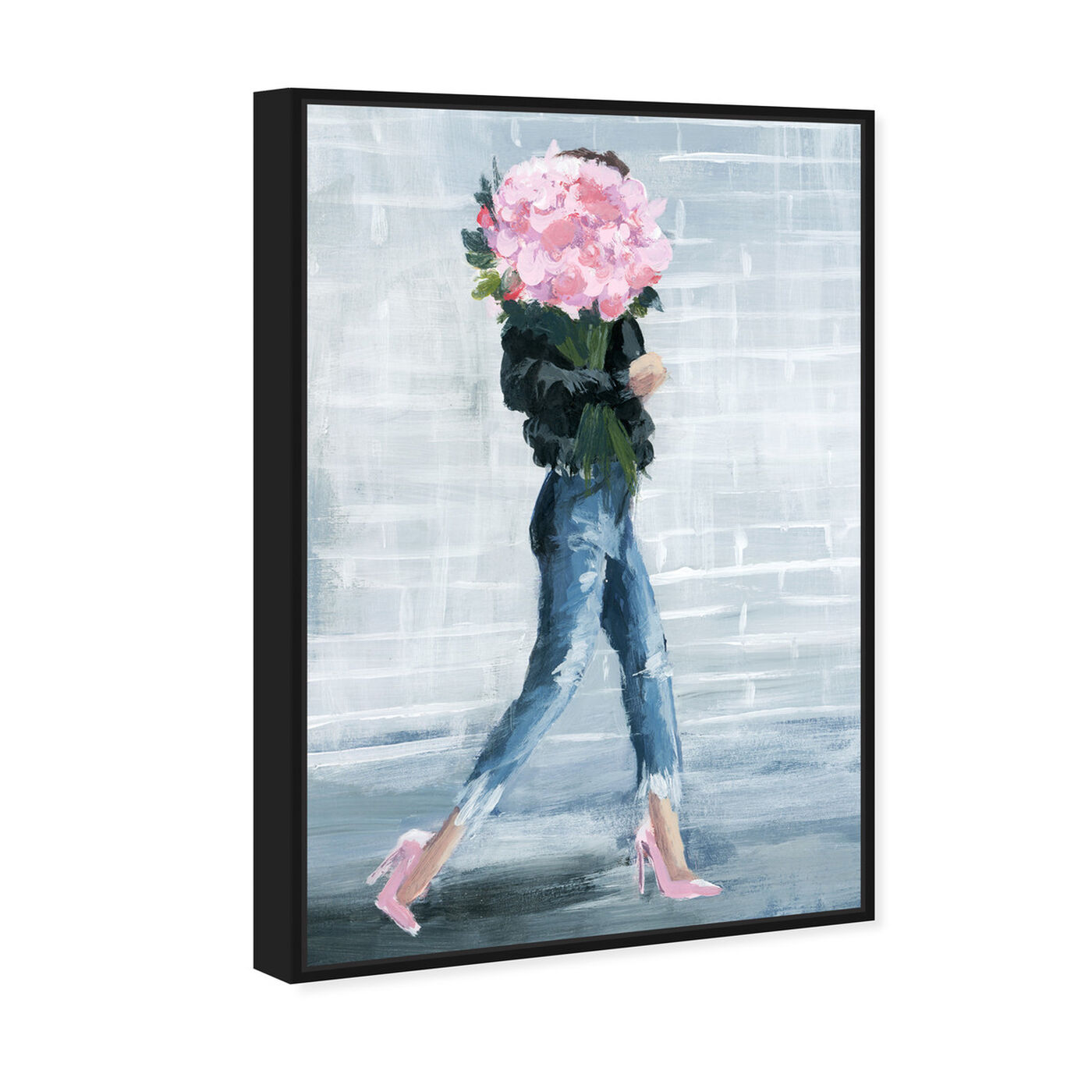 Angled view of Walk This City featuring fashion and glam and outfits art.