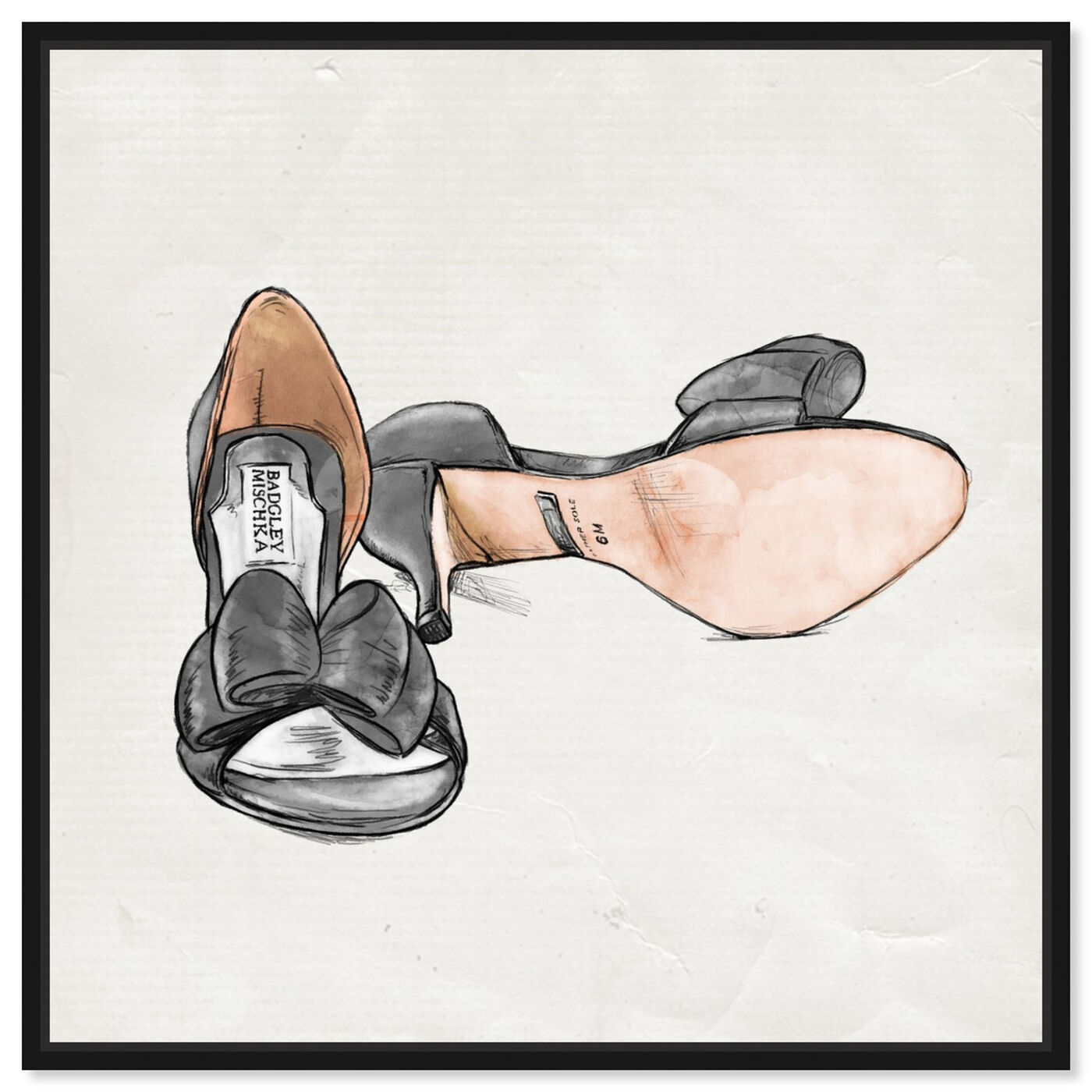 Front view of My Classy Shoes featuring fashion and glam and shoes art.