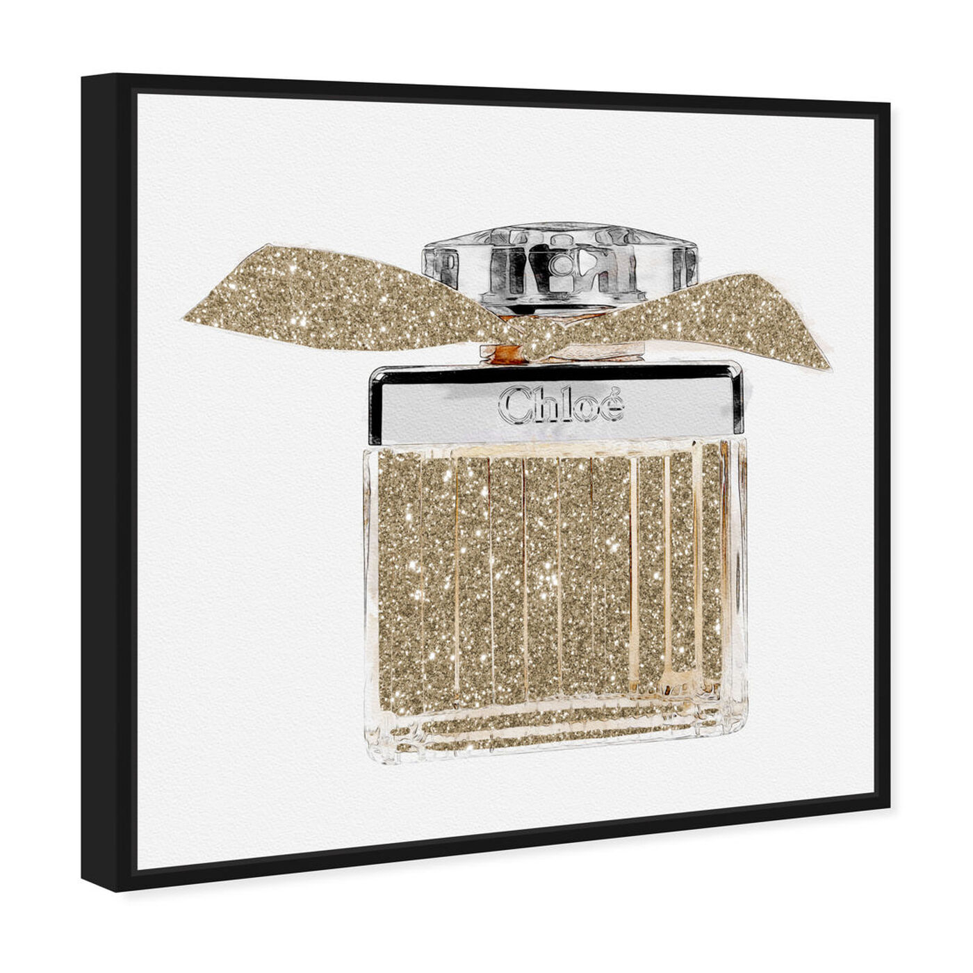 Angled view of Lovely Sweet Perfume featuring fashion and glam and perfumes art.