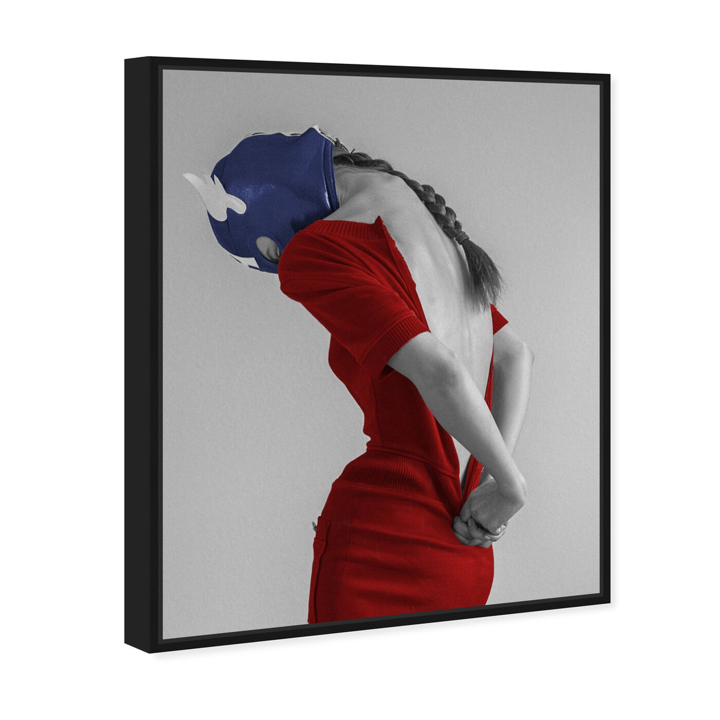 Angled view of Ekaterina Juskowski - Dressed to Conquer featuring people and portraits and silhouettes art.