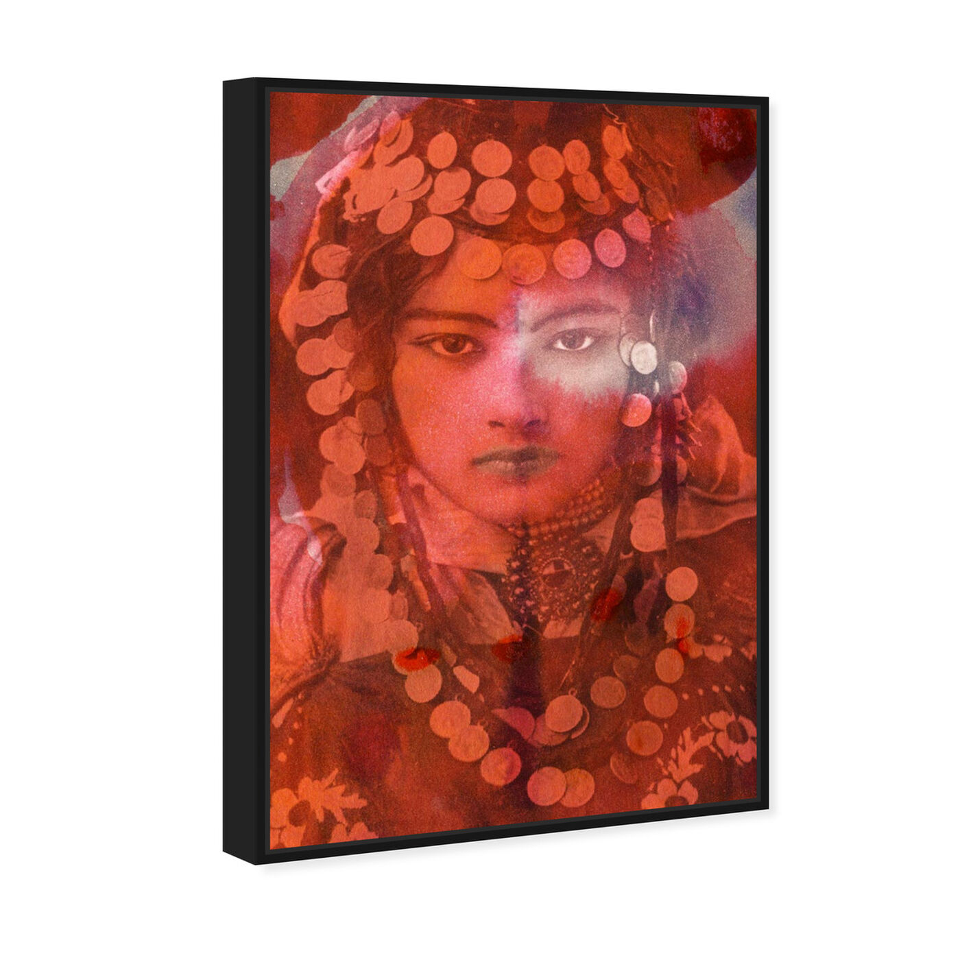 Angled view of Gypsy Girl featuring classic and figurative and classic art.