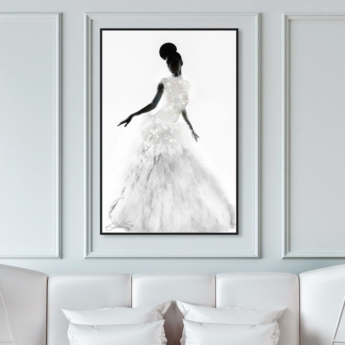 Hanging view of Dress Like Who You Truly Are featuring fashion and glam and dress art.