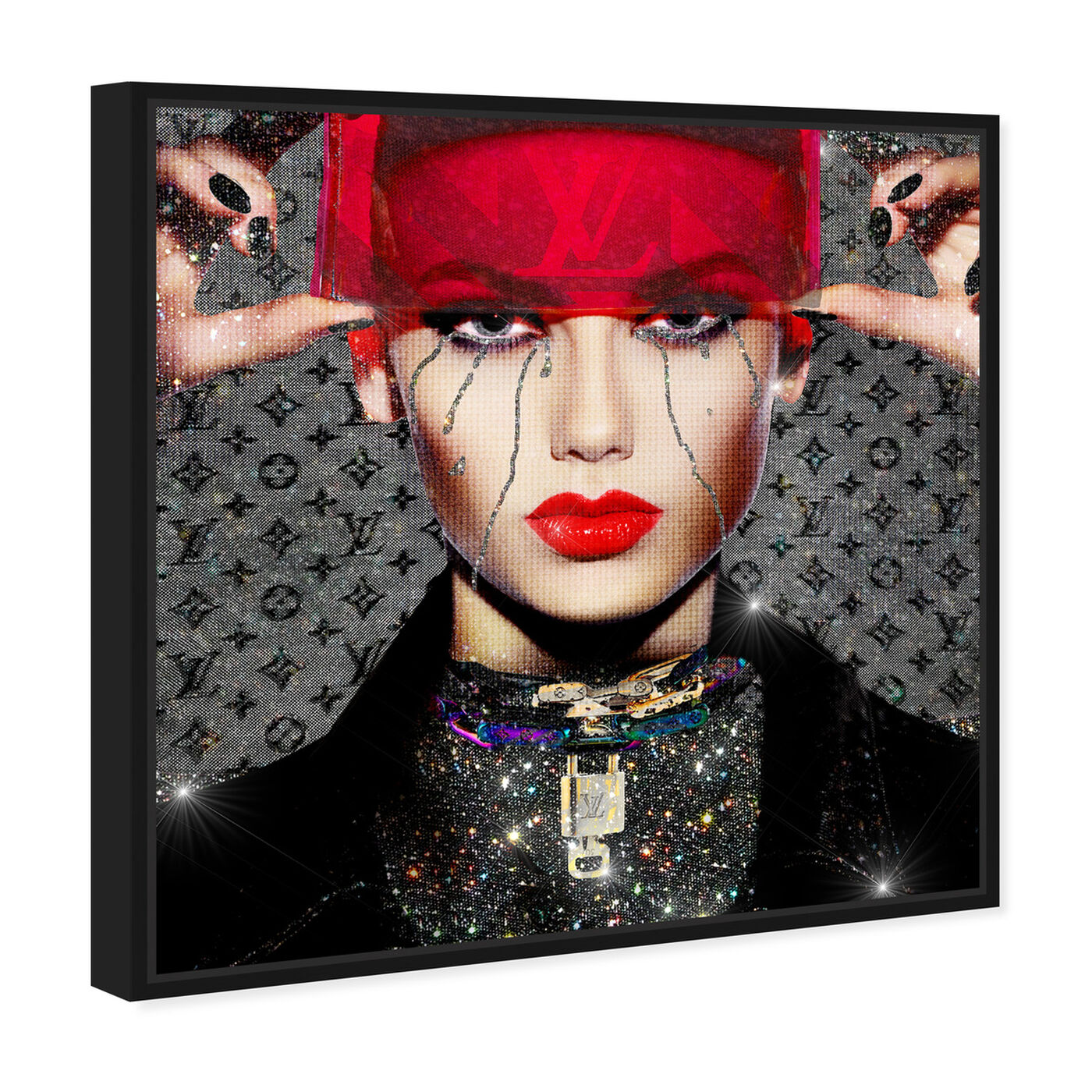 Angled view of See You, Space Cowgirl featuring fashion and glam and portraits art.
