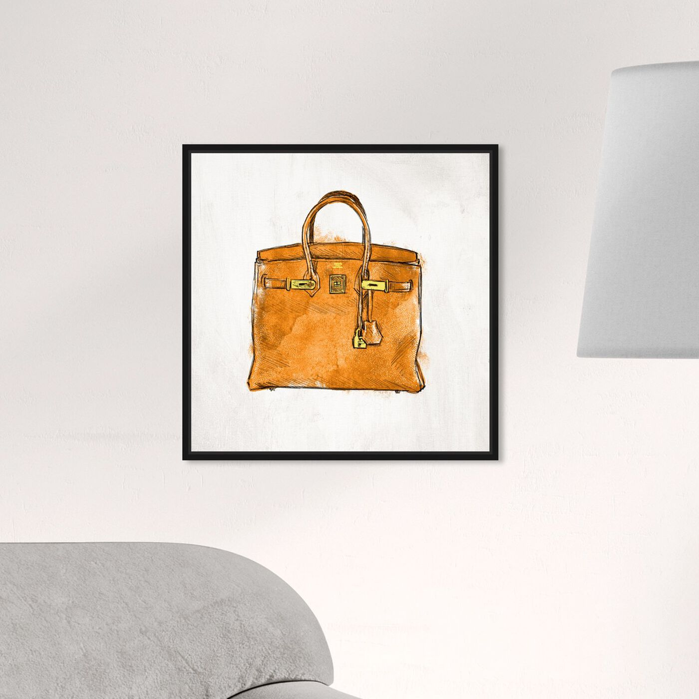 Hanging view of My Lucky Bag featuring fashion and glam and handbags art.
