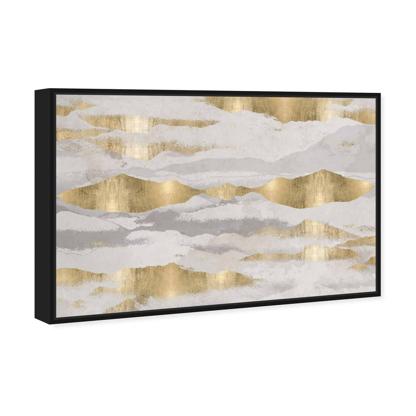 Angled view of Mountains Of Life featuring abstract and textures art.