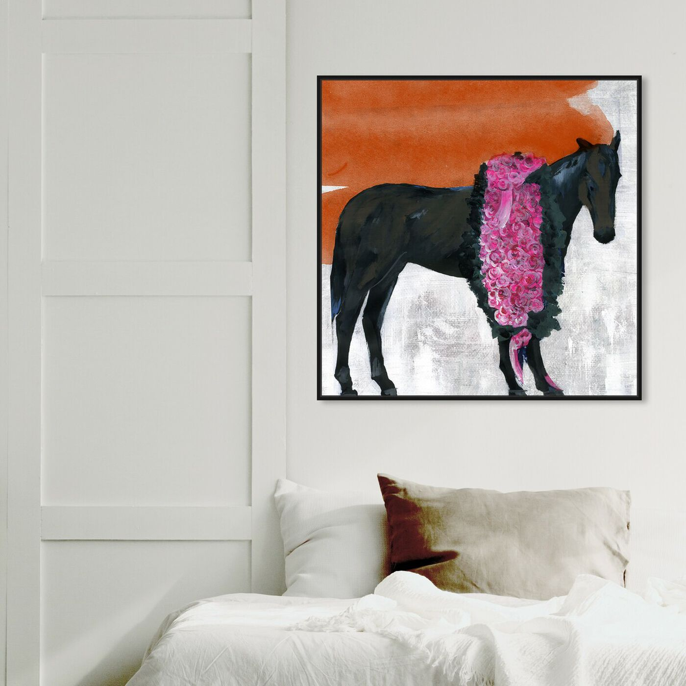 Hanging view of Premiere By Carson Kressley featuring animals and farm animals art.