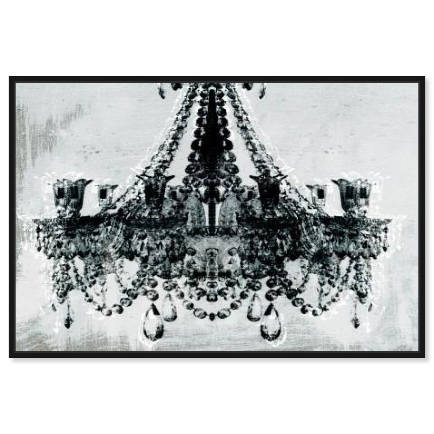 Front view of Dramatic Entrance featuring fashion and glam and chandeliers art.