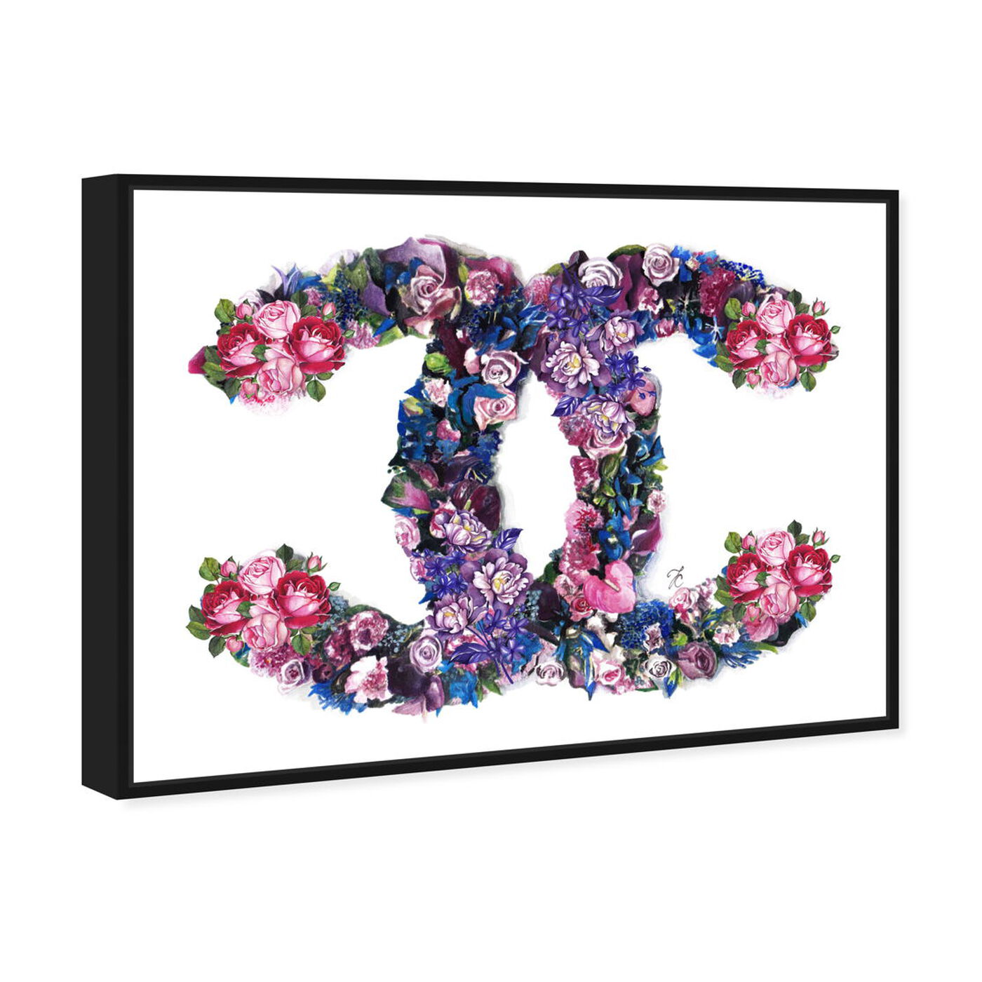 Angled view of Doll Memories - Exquisite Flower Delight featuring fashion and glam and lifestyle art.