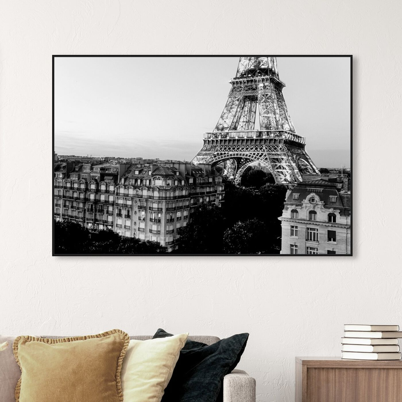 Hanging view of SAI - City of Glam featuring cities and skylines and european cities art.