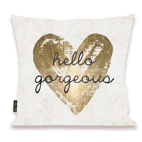 Gorgeous Salute White Pillow I