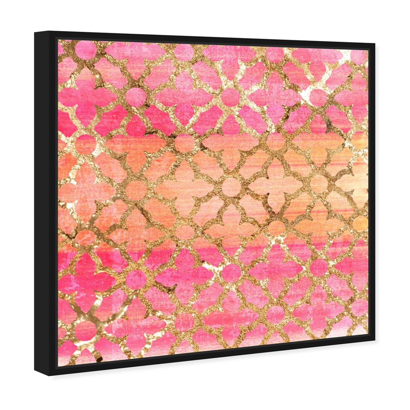 Angled view of Pretty Arabesque featuring abstract and patterns art.