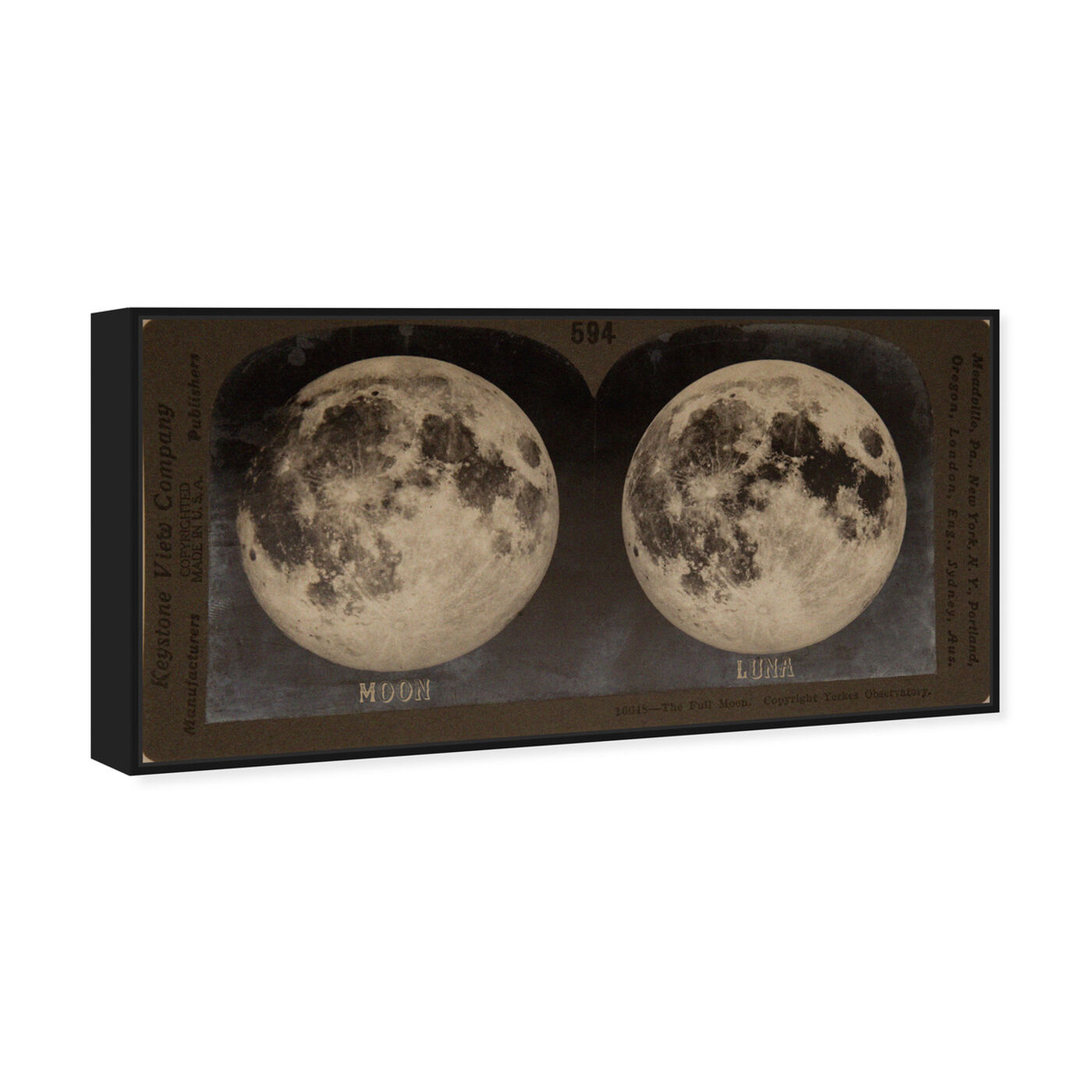 Angled view of Full Moon featuring astronomy and space and moons art.