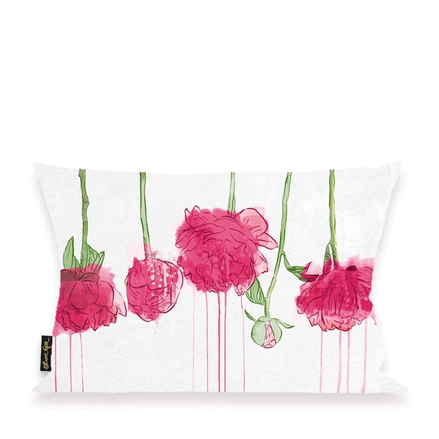 Dripping Flowers Pillow
