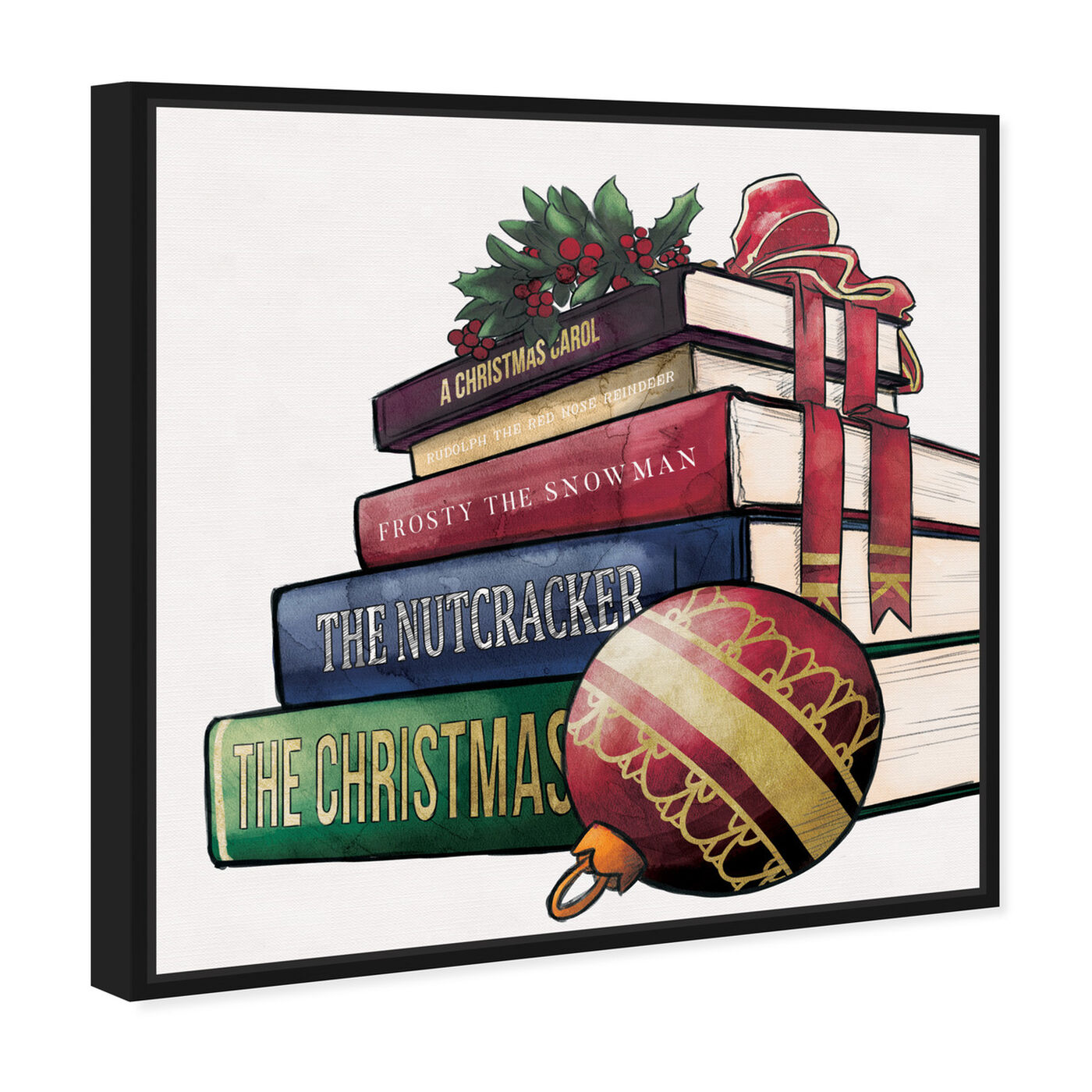 Angled view of Holiday tales featuring holiday and seasonal and holidays art.