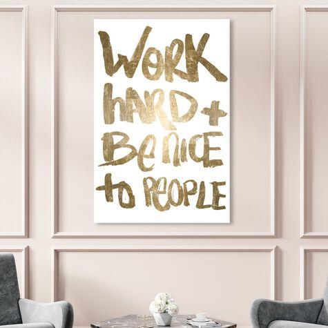 Work and Be Nice