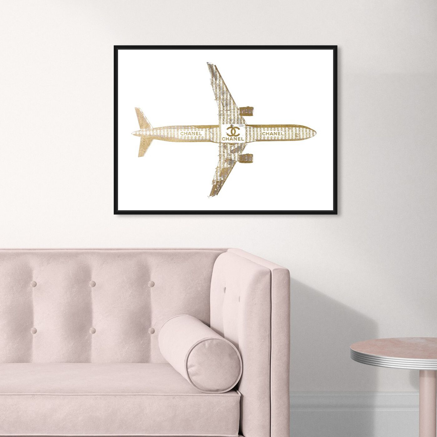 Hanging view of Trendsetter CC Airlines featuring fashion and glam and lifestyle art.