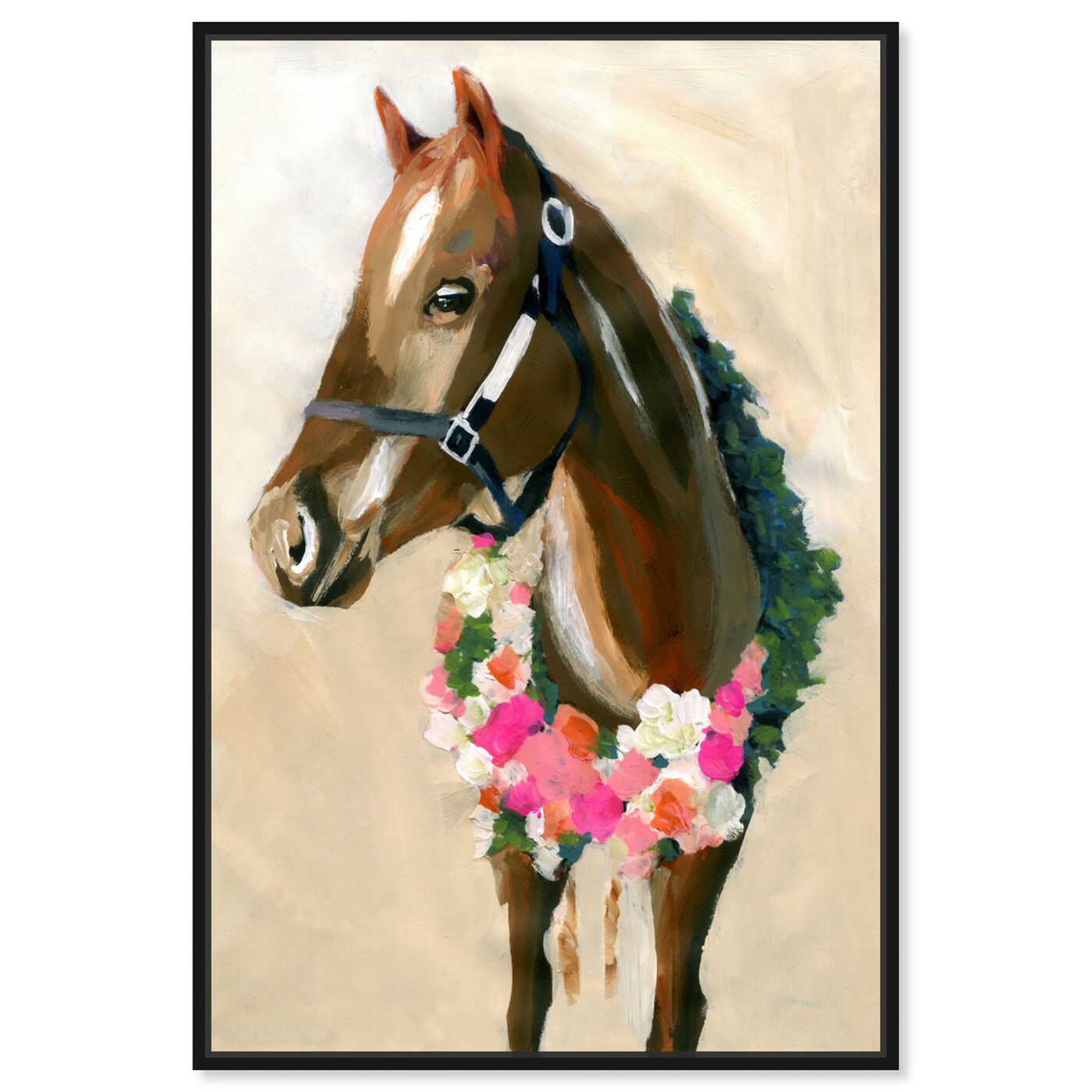 Front view of Champion By Carson Kressley featuring animals and farm animals art.