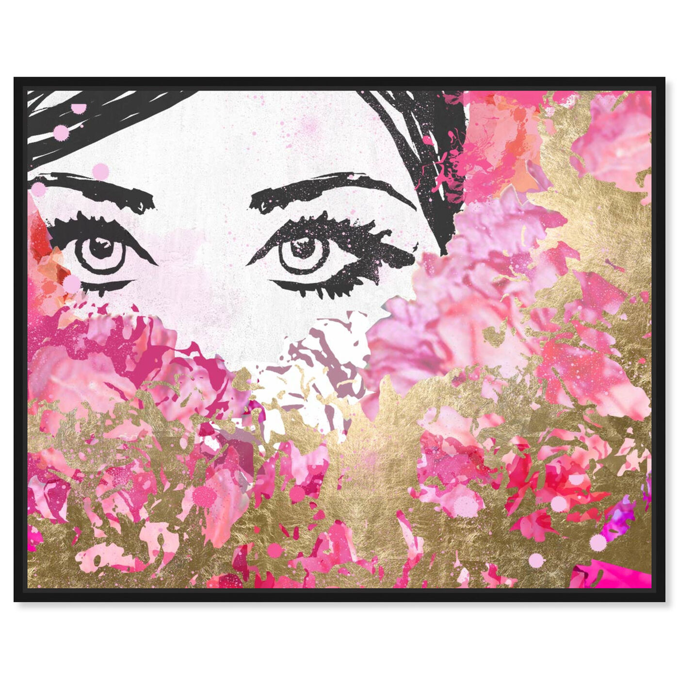 Front view of Smell the Flowers featuring fashion and glam and portraits art.