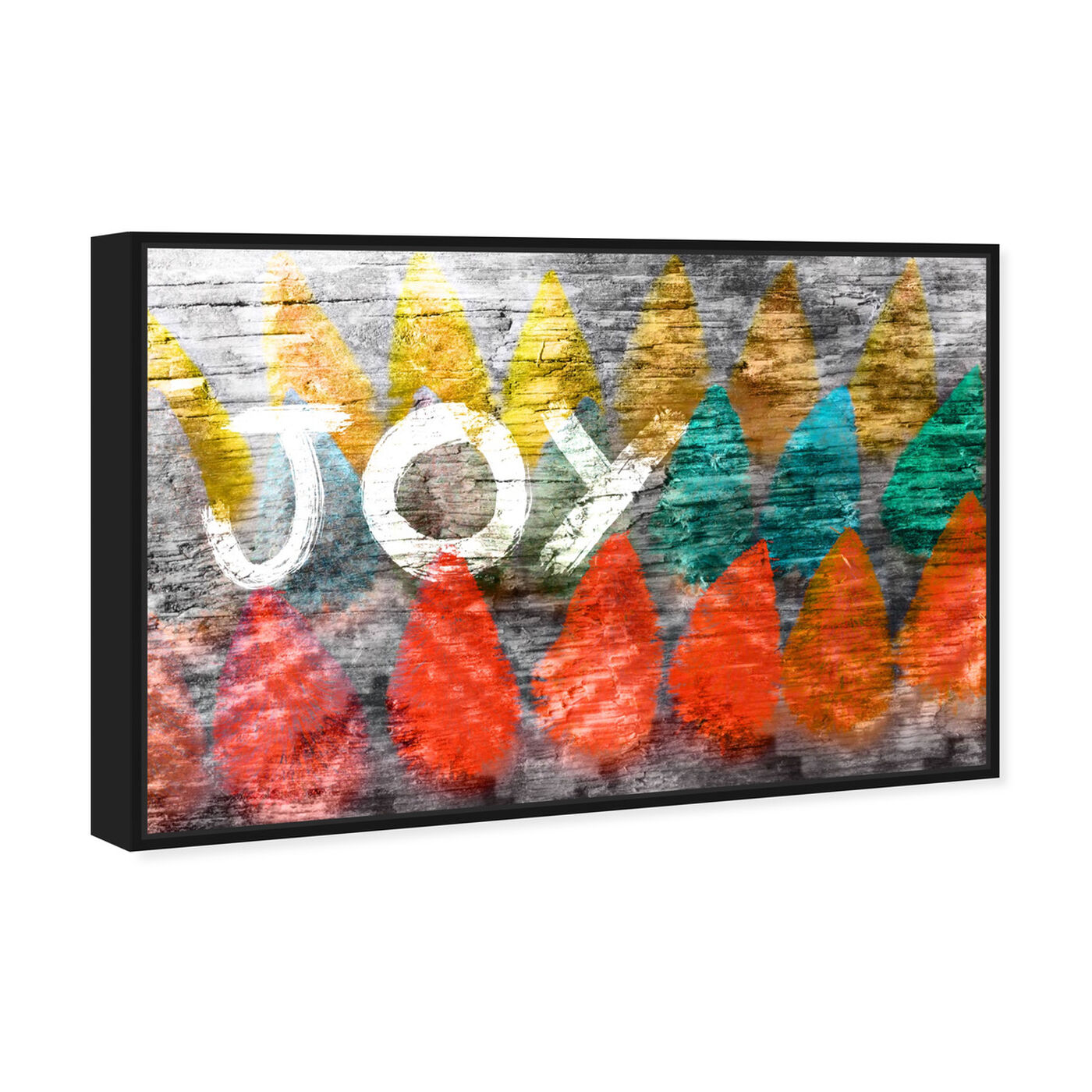 Angled view of Joy Nativo featuring holiday and seasonal and holidays art.