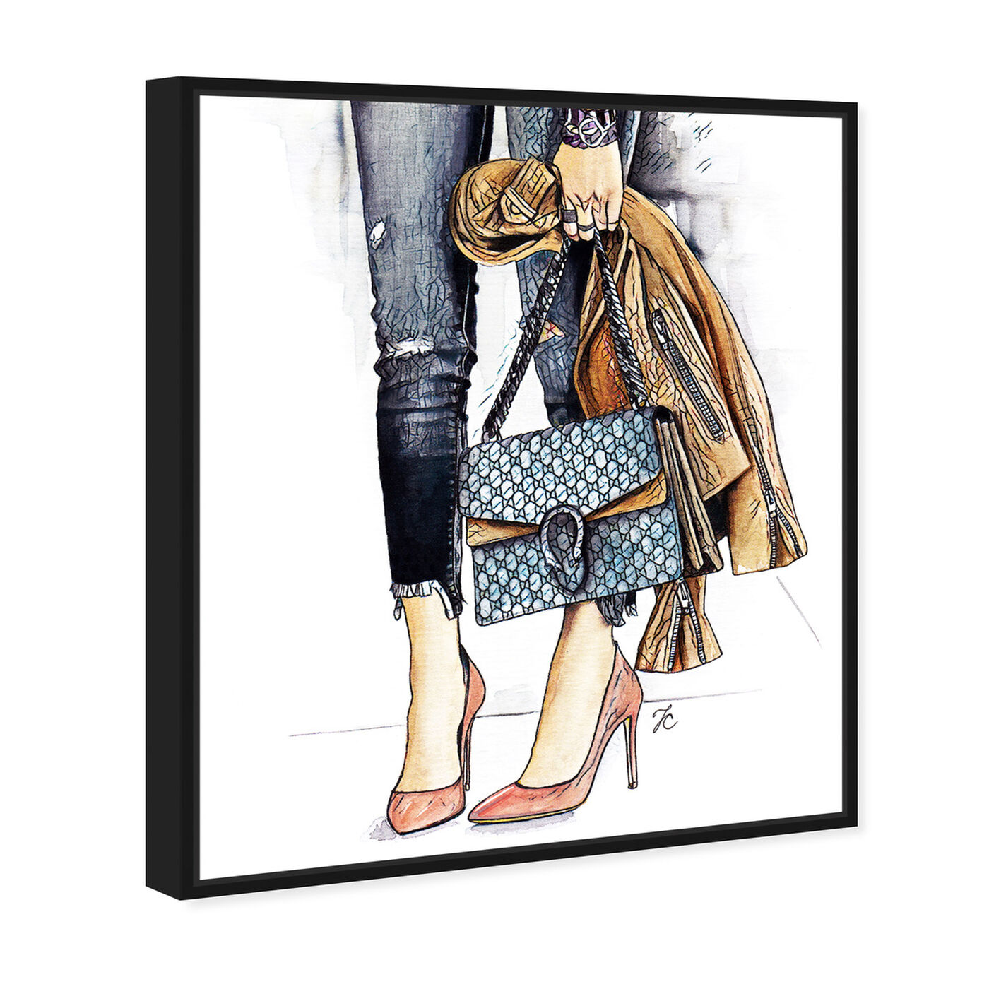 Angled view of Doll Memories - Fashion Street Glam featuring fashion and glam and outfits art.