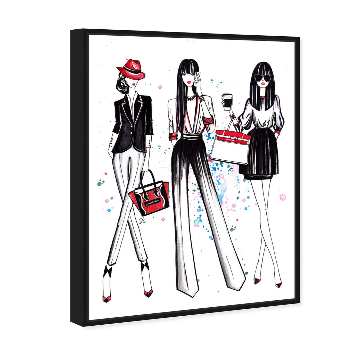 Angled view of Doll Memories - Shopping Spree 2 featuring fashion and glam and lifestyle art.