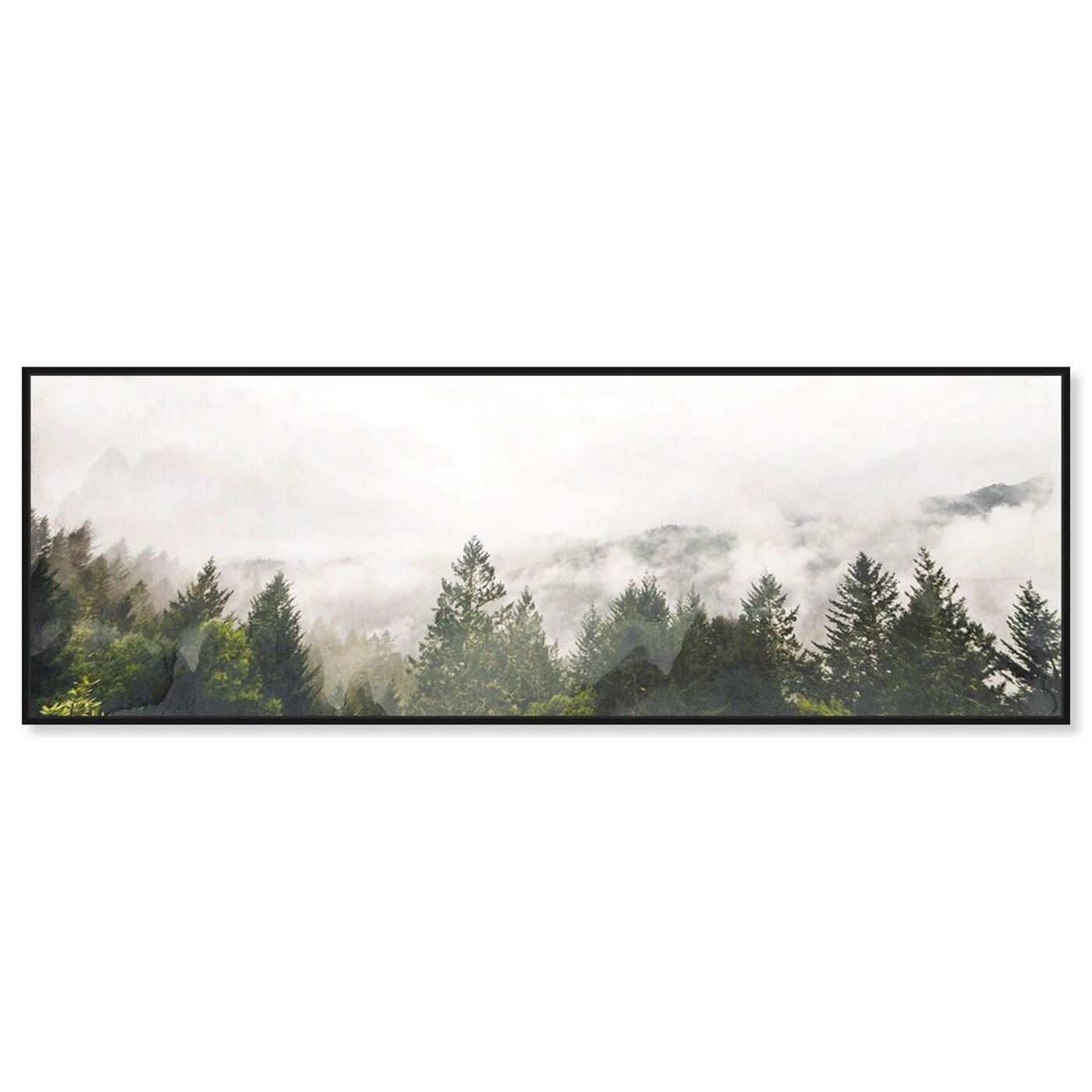 Front view of Look Out There featuring nature and landscape and forest landscapes art.