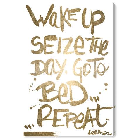 Seize The Day Gold Foil