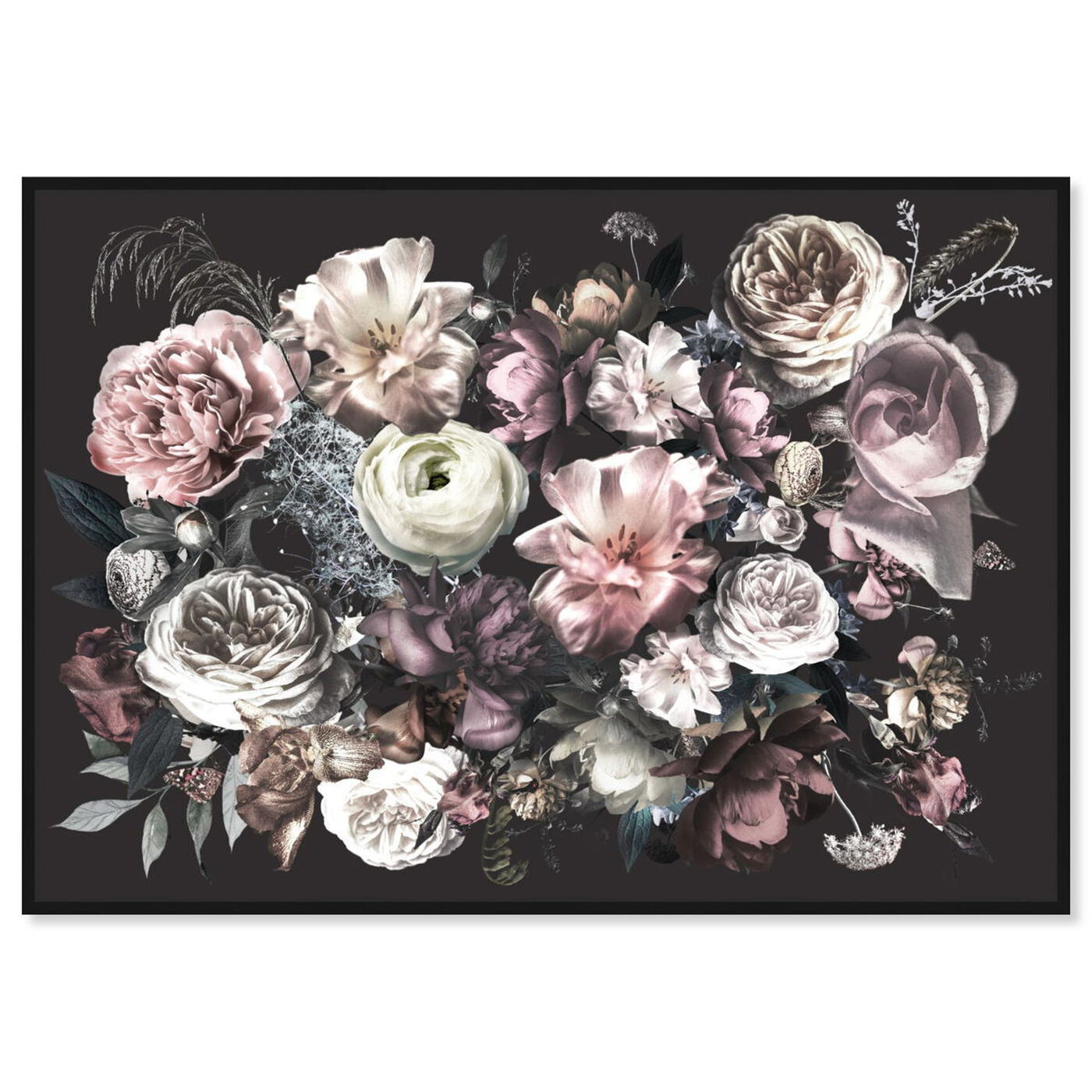 Front view of Elizabeth Grace Flowers featuring floral and botanical and florals art.