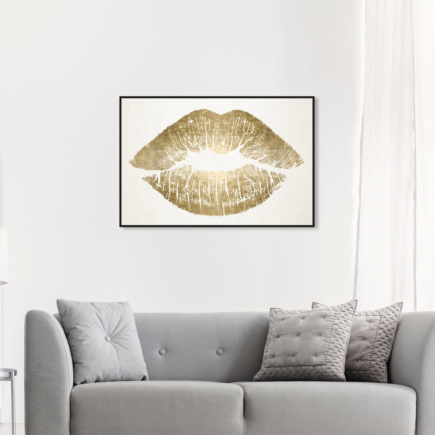 Hanging view of Solid Kiss Ideal featuring fashion and glam and lips art.