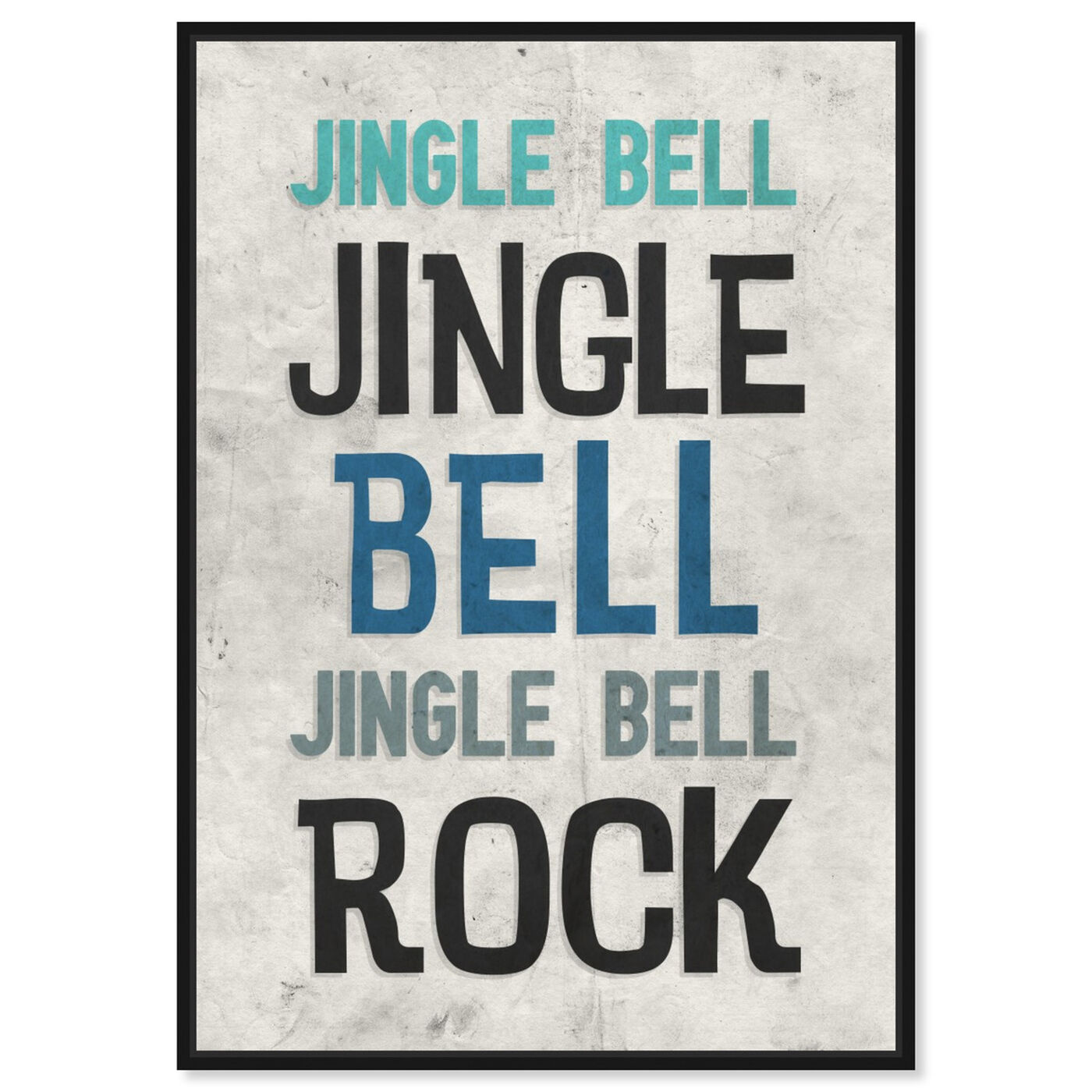 Front view of Jingle Bell Rock featuring holiday and seasonal and holidays art.