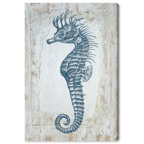 Sea Horse Blue