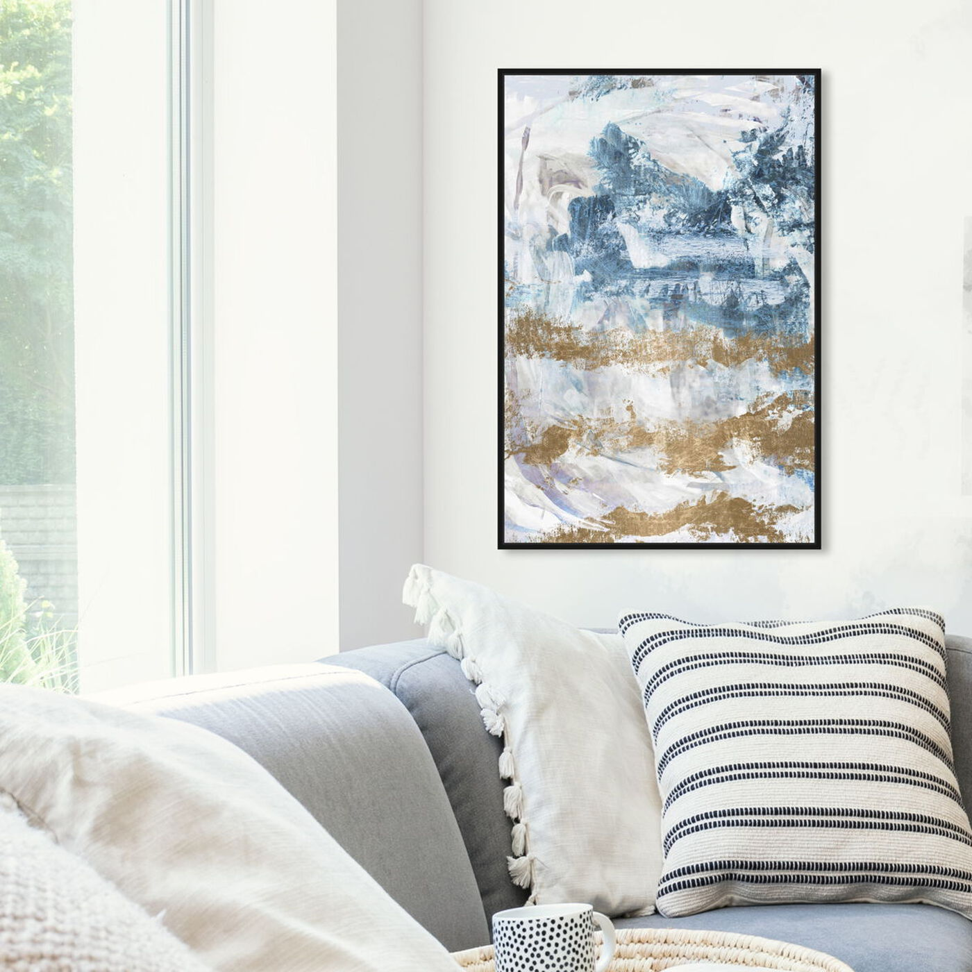 Hanging view of So Much Love featuring abstract and textures art.