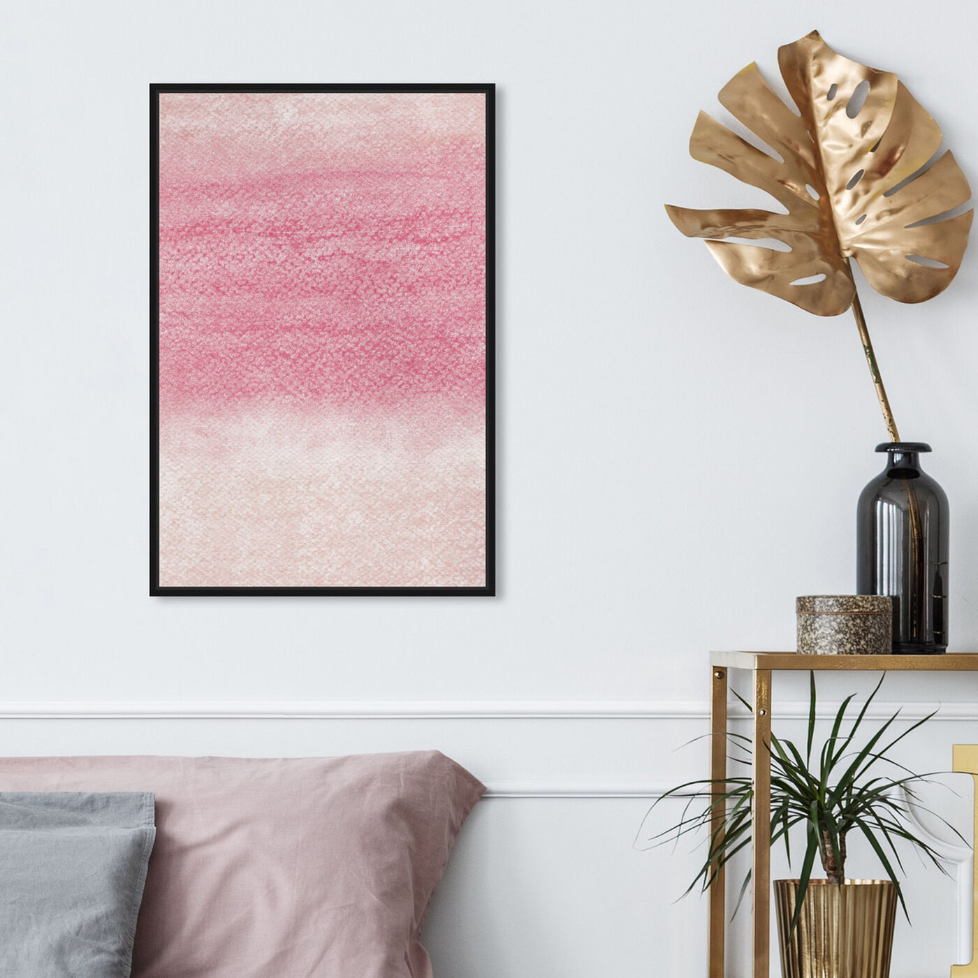 Hanging view of Grapefruit featuring abstract and paint art.