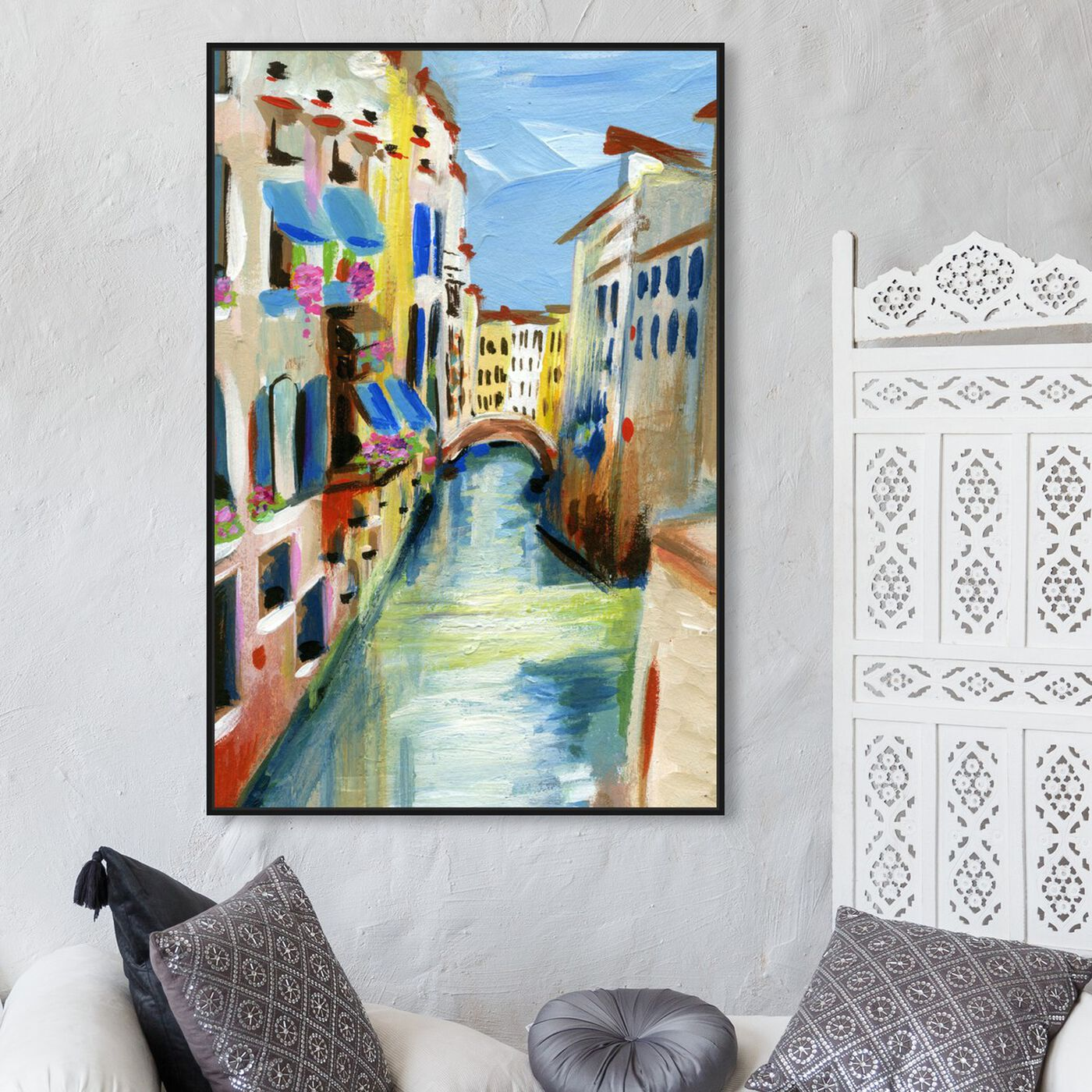 Hanging view of Venezia featuring cities and skylines and european cities art.
