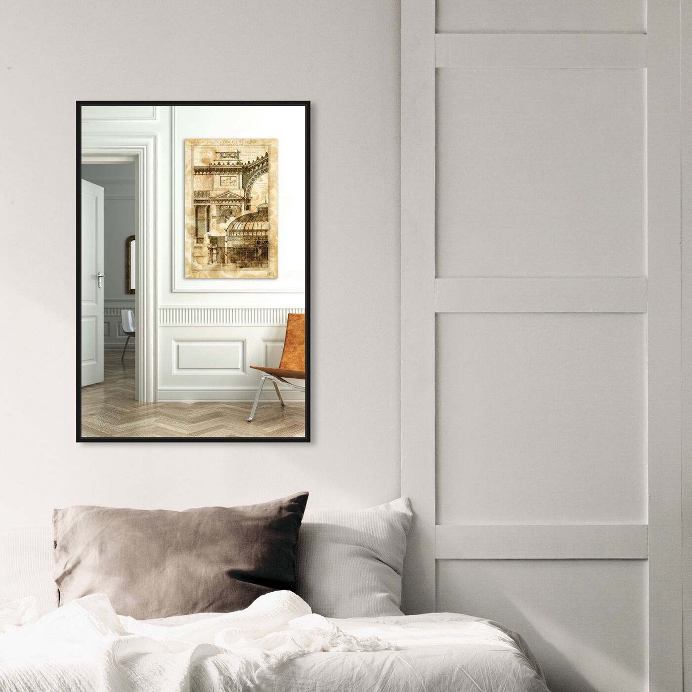 Hanging view of Cavallerizza featuring architecture and buildings and european buildings art.