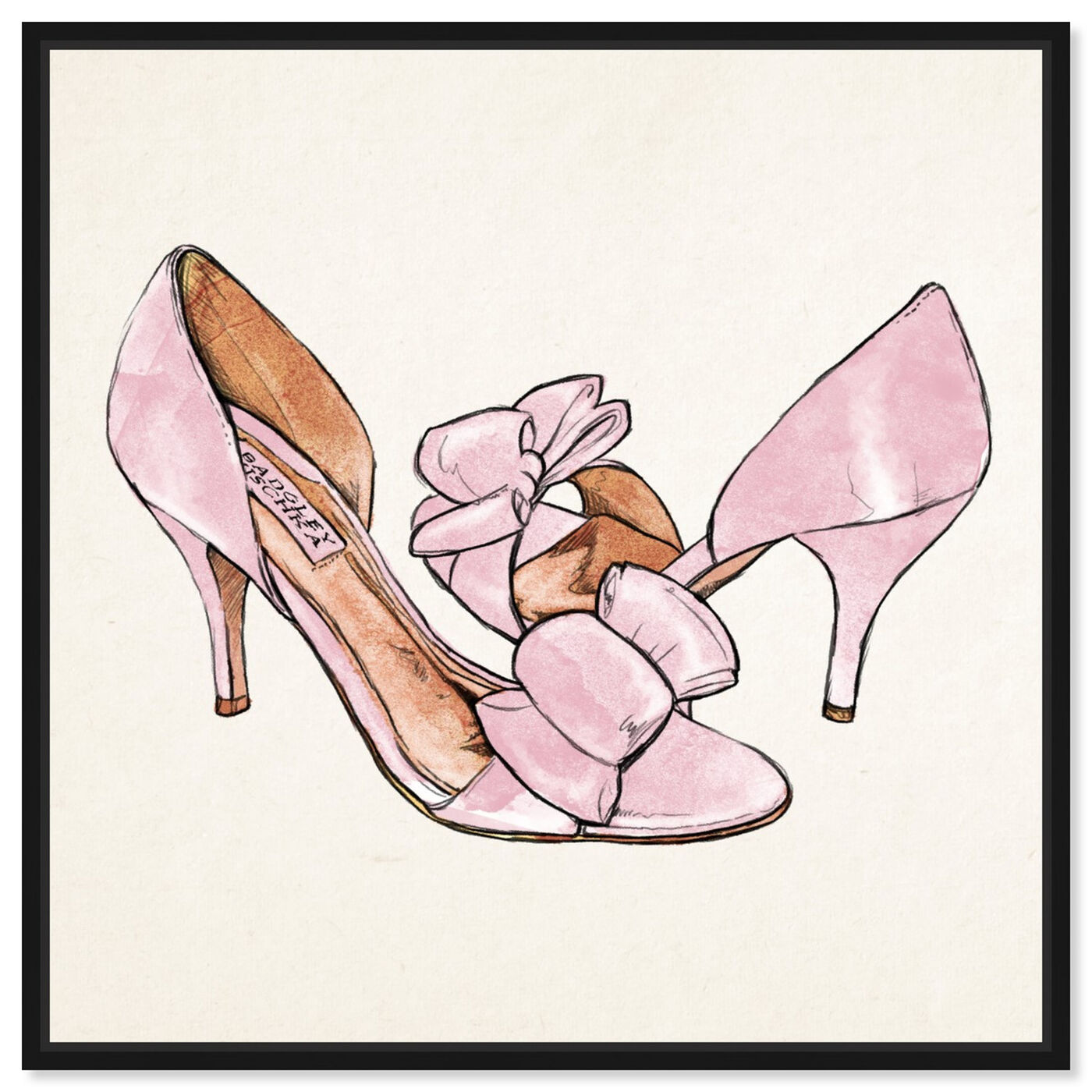 Front view of My Sweet Shoes featuring fashion and glam and shoes art.