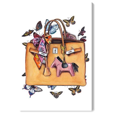 Doll Memories - Orange Butterflies Bag