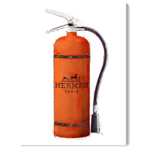 Orange Extinguisher