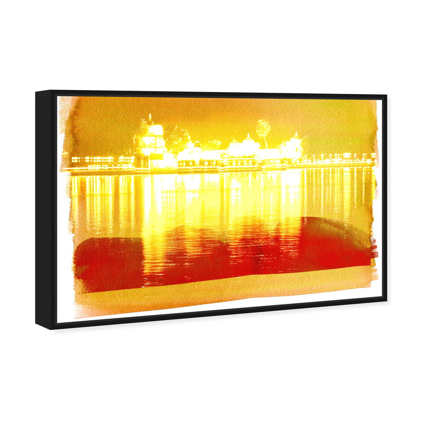 Angled view of Amritsar featuring world and countries and asian countries art.