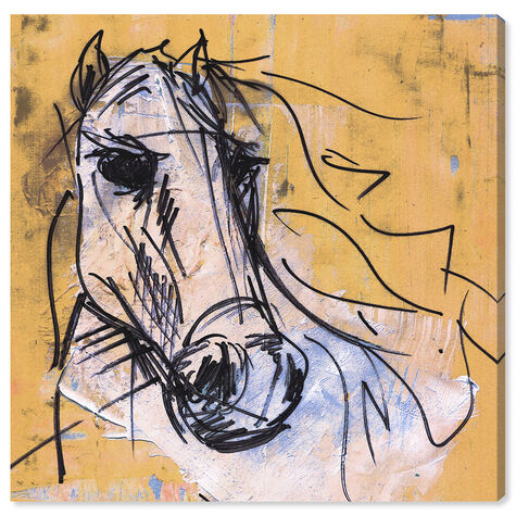 Horse Study By Carson Kressley