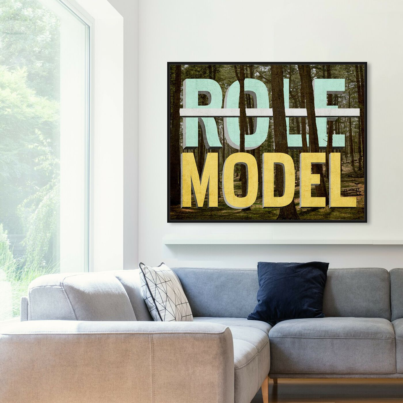 Hanging view of I'm Fabulous featuring typography and quotes and inspirational quotes and sayings art.