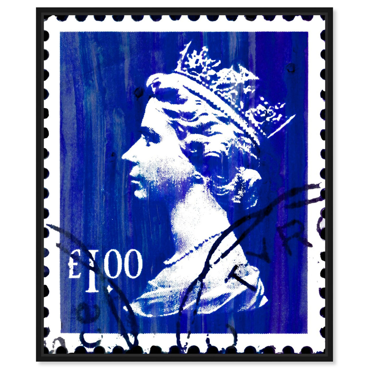 Front view of Save The Queen One featuring world and countries and european cultures art.