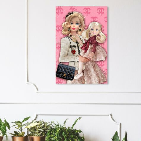 Mother and Daughter Fashion Dolls