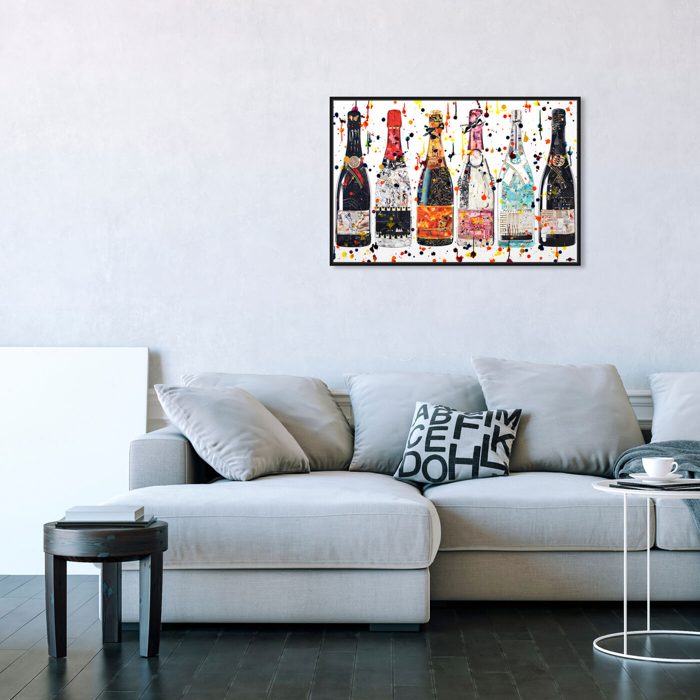 Hanging view of Katy Hirschfeld - Fancy Spirits featuring fashion and glam and fashion lifestyle art.