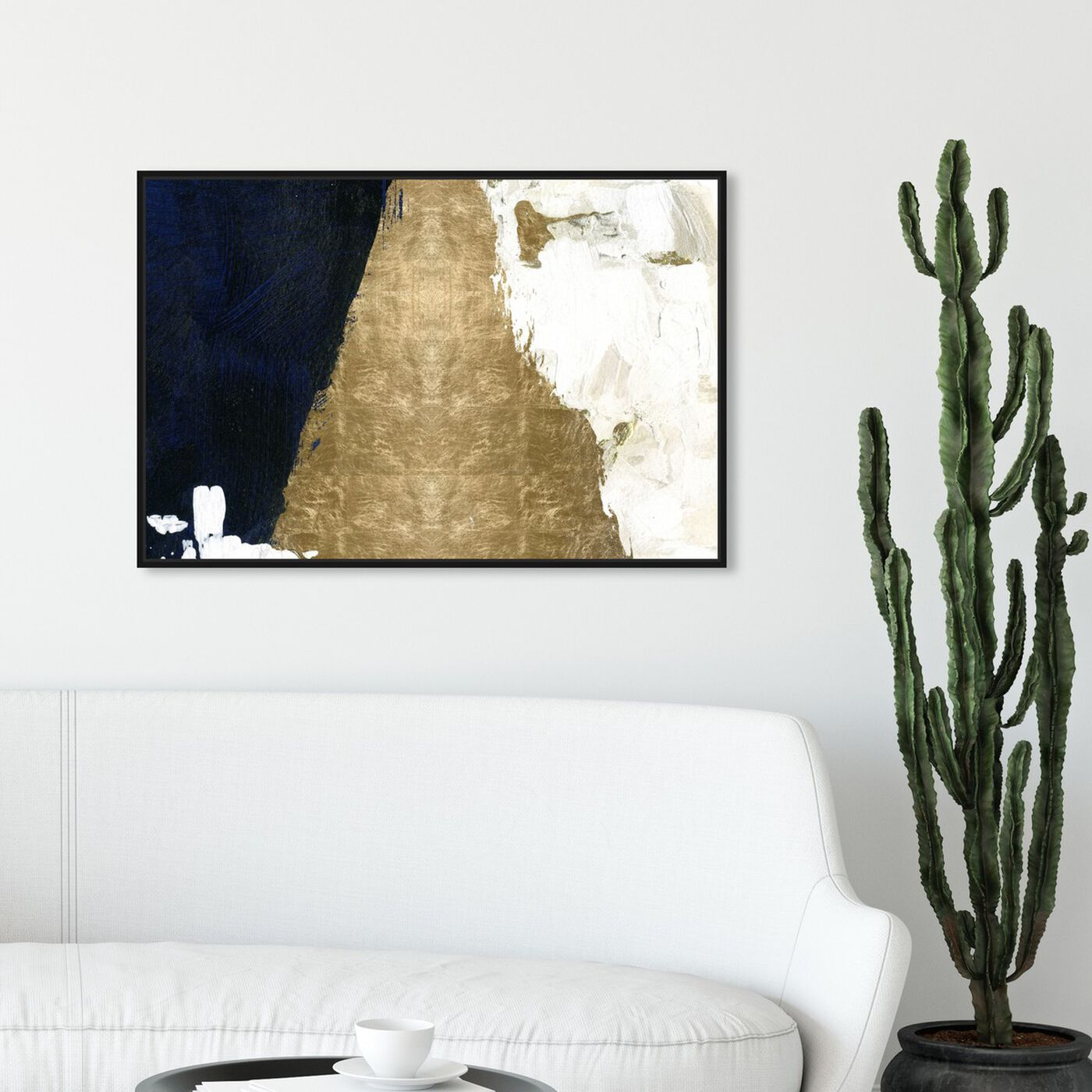 Hanging view of Night and Day featuring abstract and paint art.