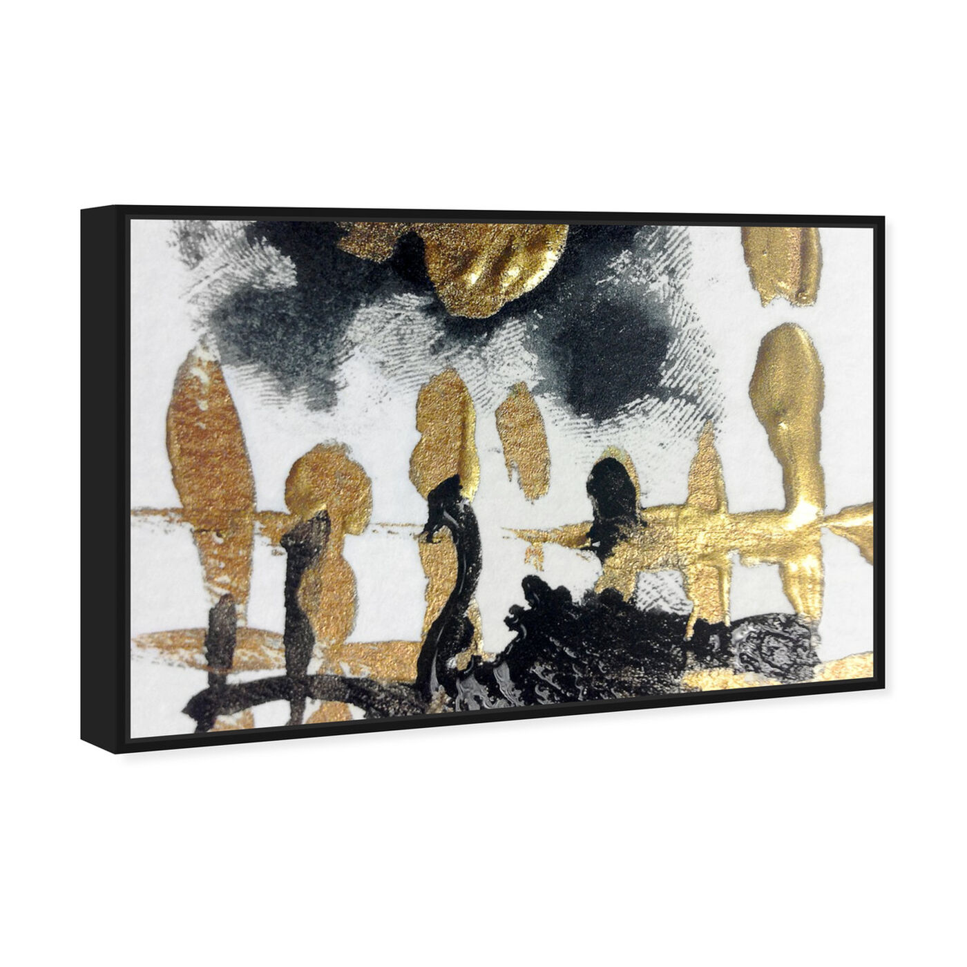 Angled view of Nozze di Figaro - Signature Collection featuring abstract and paint art.