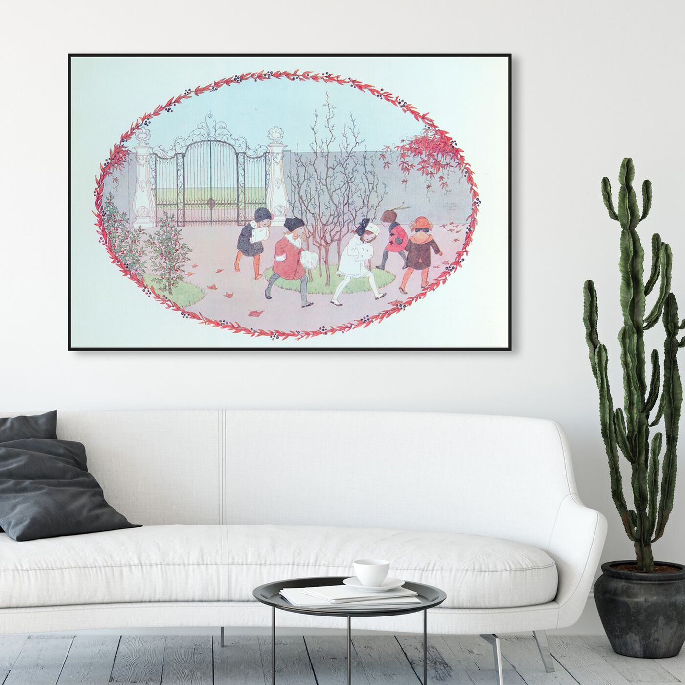 Hanging view of Mulberry Bush featuring entertainment and hobbies and parks art.
