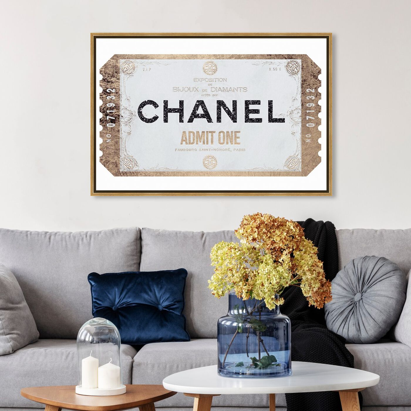 Hanging view of ADMIT ONE Faubourg Clean featuring fashion and glam and fashion art.