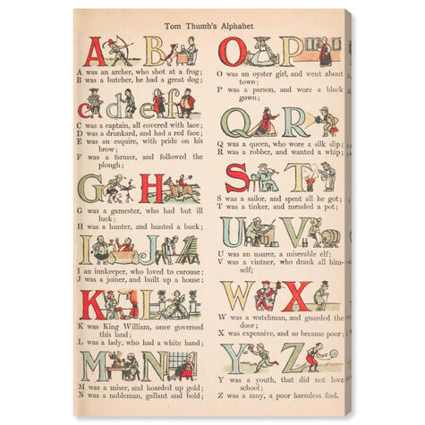 Tom Thumb's Alphabet